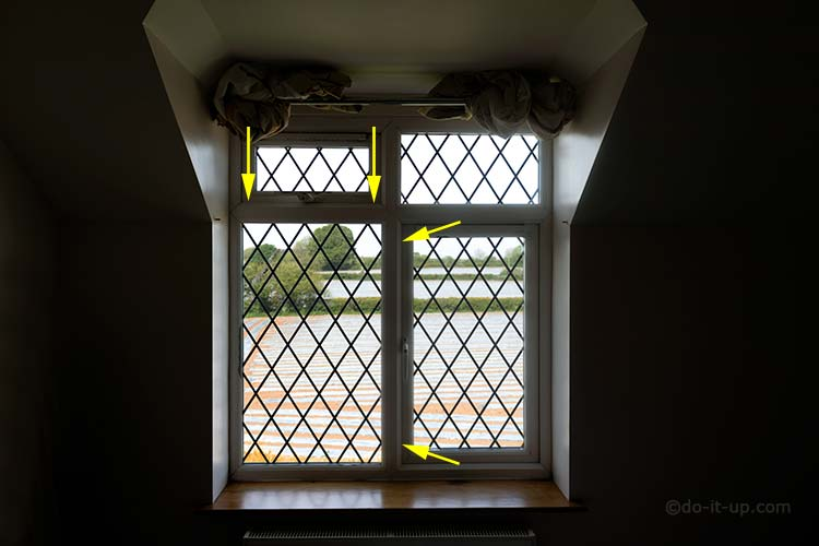uPVC Window - Jammed or Stuck Window - Shootbolt Positions (Top and Side Hung)