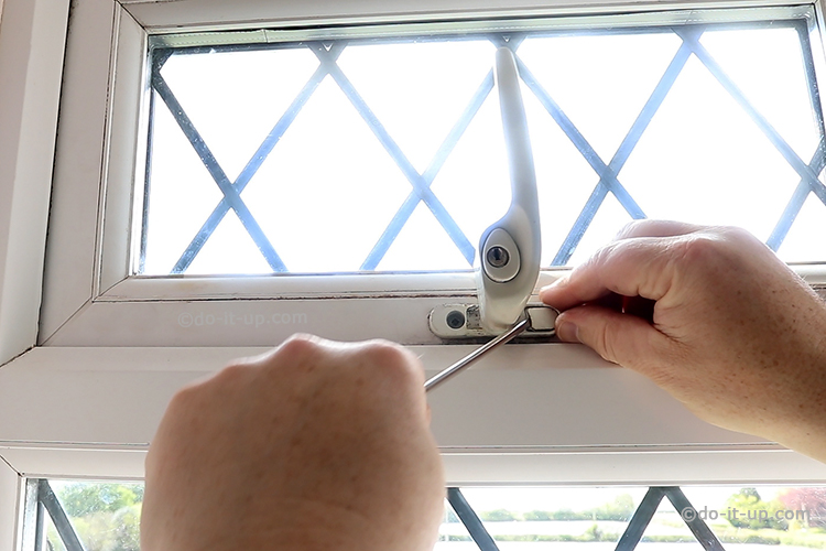 Jammed, Seized, Stuck uPVC Window - Removing the Window Handle