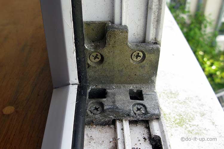 uPVC Window - Shootbolt Keeper or Striker Plate