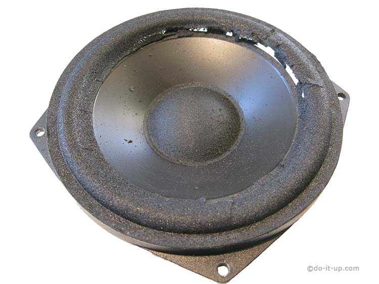 Speaker Repair - Broken Speaker Foam Surround