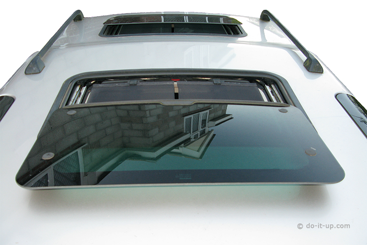 Sunroof Repair - Fully Opened (Tilt and Slide)