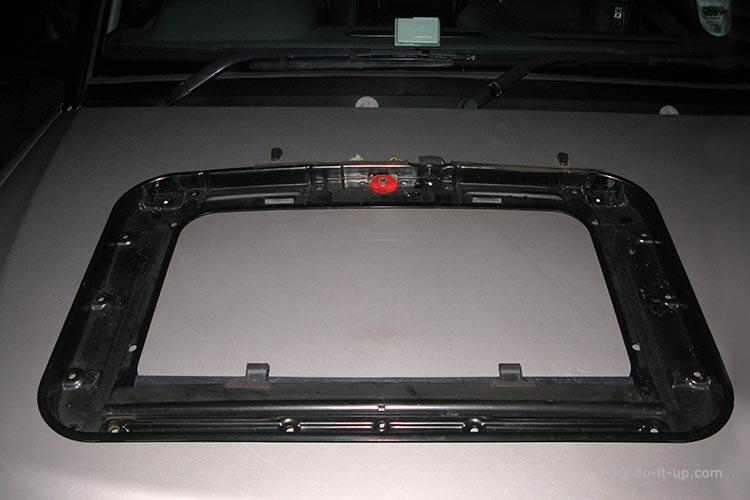 Sunroof Repair - The Bottom Half