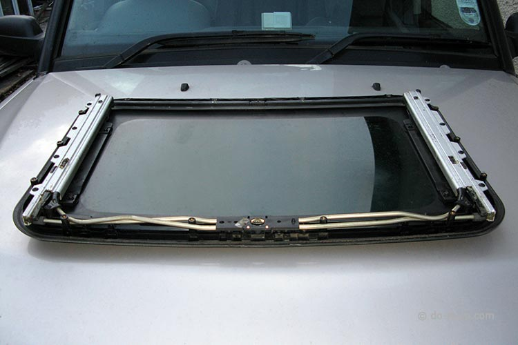 Sunroof Repair - The Top Half (Upside Down)