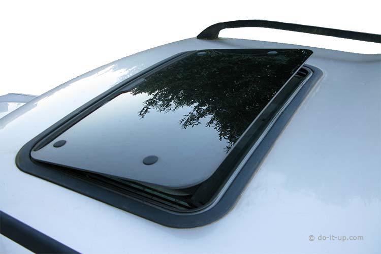 Sunroof Repair - Tilted Sunroof