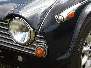 Triumph TR4A Front Lights
