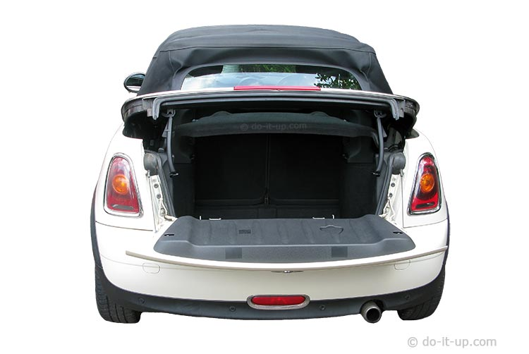 Mini R57 Convertible - Trunk (Boot) Enlarged Access