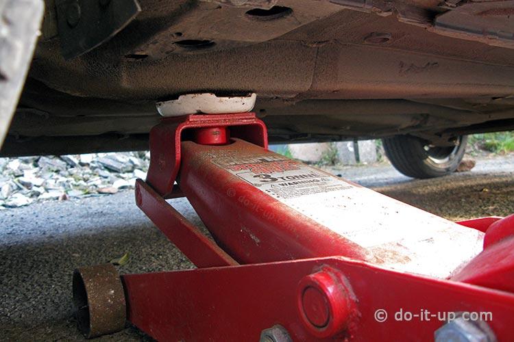 Jacking Up a Vehicle - Body Strengthening Box Section