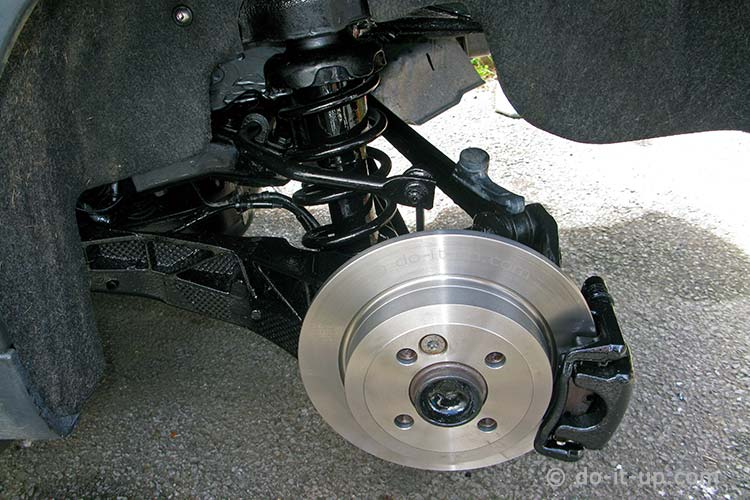 Mini R57 - Rear Disk Brakes & Suspension