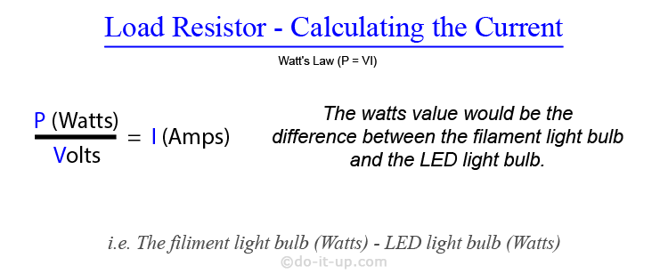 Load Resistor Calculation (Current)