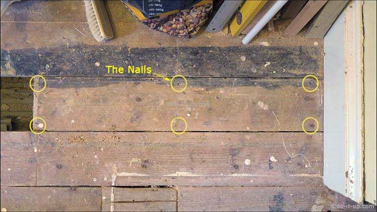 How to Lift up Your Floor Boards - Finding the Fixings (Nails)