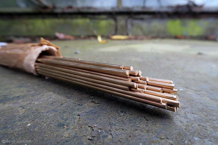 TIG Welding Consumables - Filler Rods (Wire) - 1.6mm Silicon Bronze