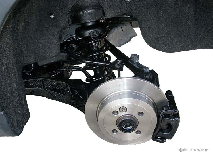 Mini R57 - Rear Disk Brakes & Suspension