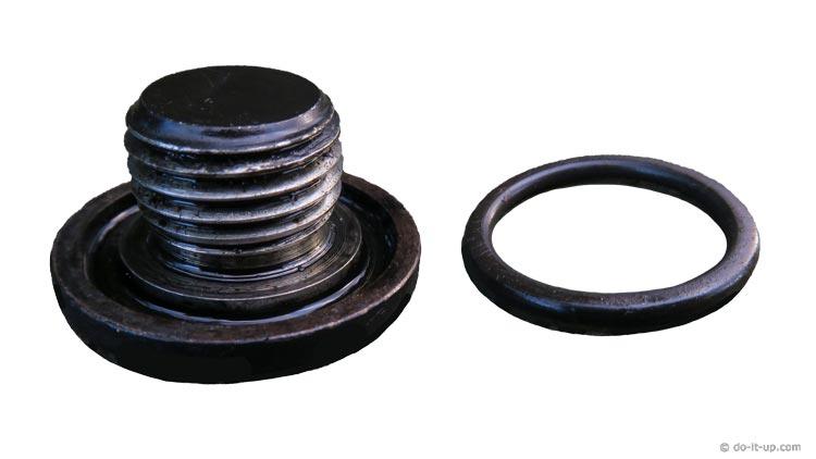Oil Drain Sump Plug & O'ring
