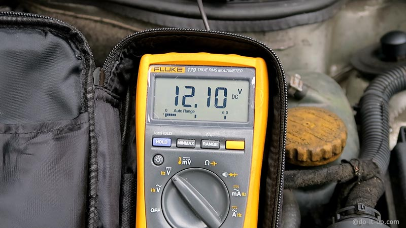 Glow Plug Supply Voltage Measurement