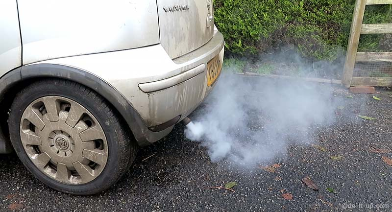 Diesel Cold Starting Fault Symptoms - White Smoke